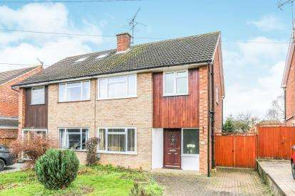 3 Bedrooms Semi Detached House for sale in Harkness Way, Hitchin, Herts, England