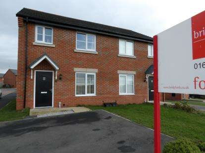 3 Bedrooms Semi Detached House for sale in Peach Way, Winsford, Cheshire