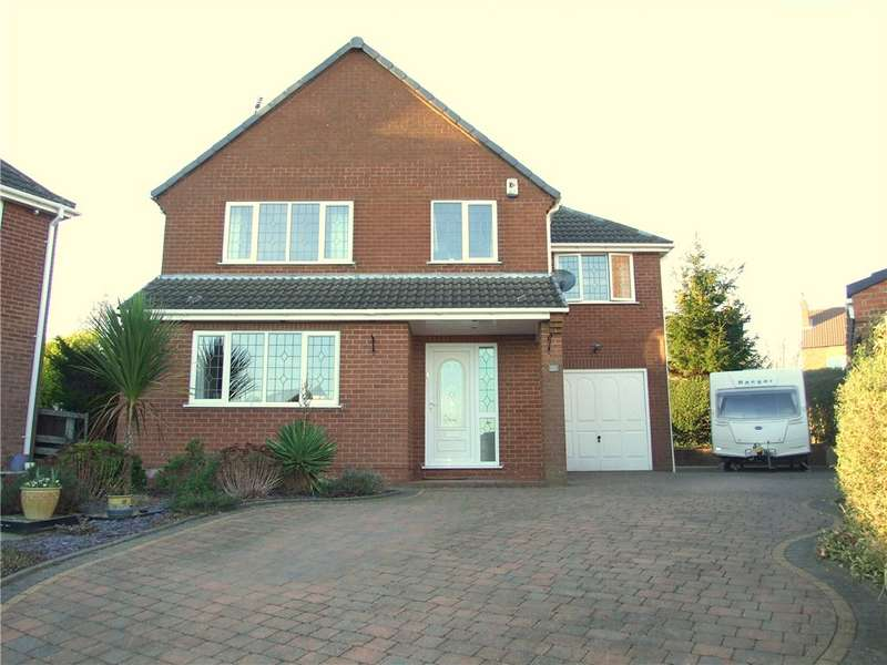 5 Bedrooms Detached House for sale in The Sycamores, Broadmeadows, Alfreton, Derbyshire, DE55