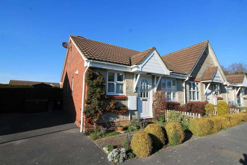 2 Bedrooms Semi Detached Bungalow for sale in Badger Rise, Portishead, North Somerset , BS20 8AX