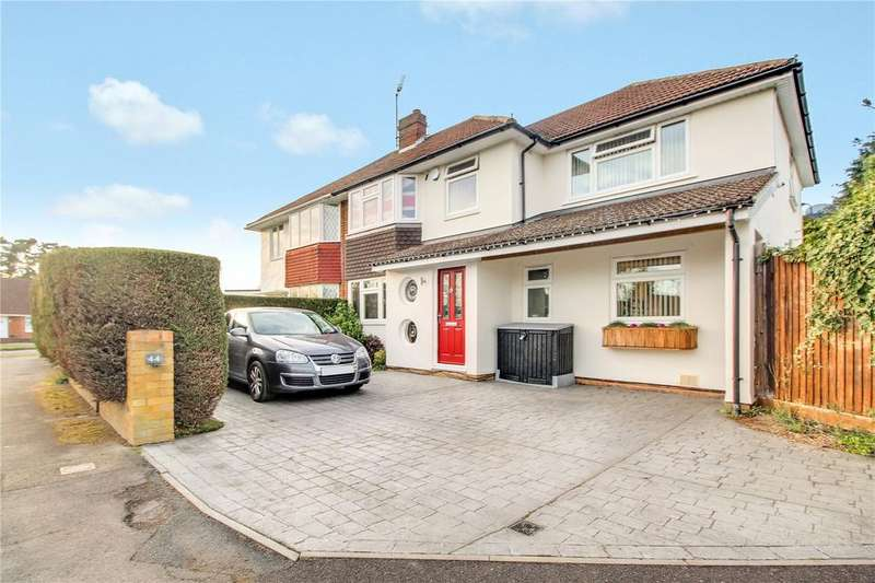 4 Bedrooms Semi Detached House for sale in Silver Fox Crescent, Woodley, Reading, Berkshire, RG5
