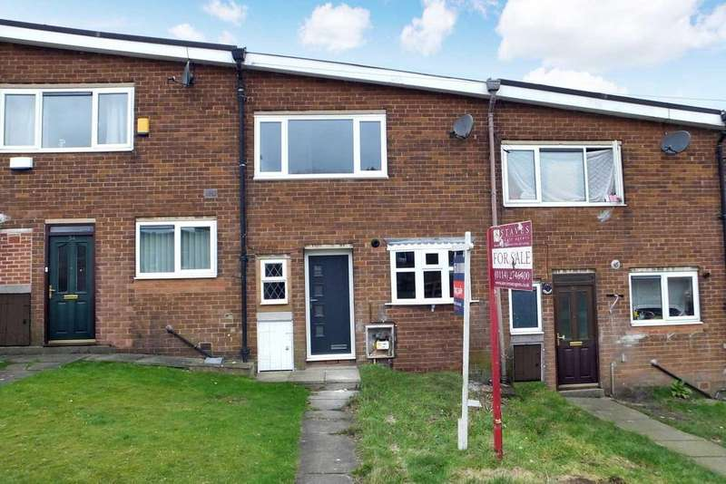 3 Bedrooms Town House for sale in Gaunt Close, Gleadless Valley, Sheffield, S14 1GD