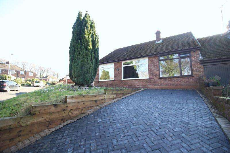 3 Bedrooms Semi Detached Bungalow for sale in Kingston Gardens, Hyde