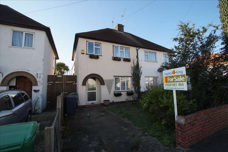 3 Bedrooms Semi Detached House for sale in Charter Road, Cippenham
