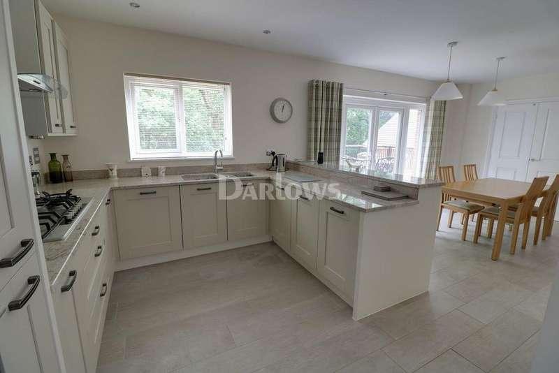 4 Bedrooms Detached House for sale in Tyn Y Berllan, Lisvane, Cardiff, CF14