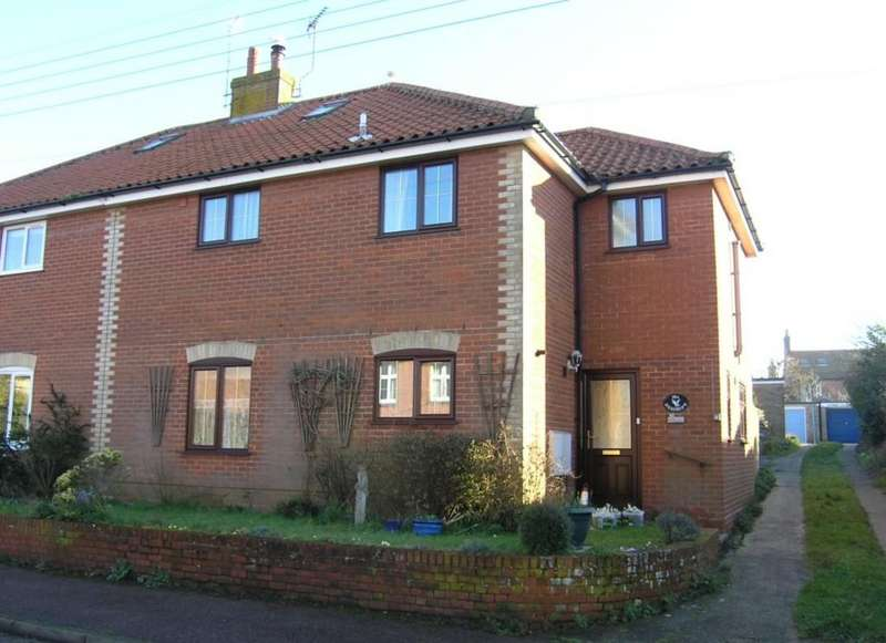 3 Bedrooms Semi Detached House for sale in Hotson Road, Southwold