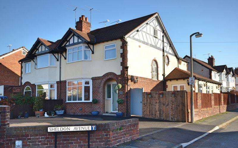 4 Bedrooms Semi Detached House for sale in Green Lane, Vicars Cross, Chester