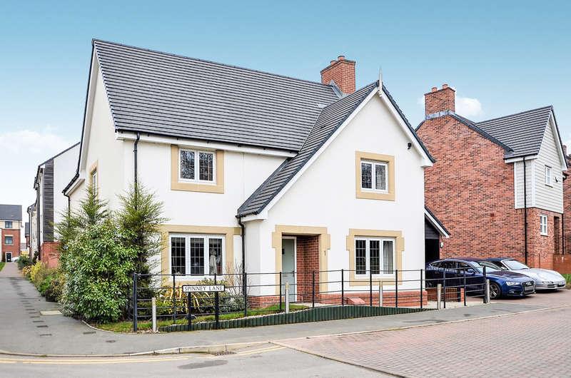 4 Bedrooms Detached House for sale in Spinney Lane, Eden Park, Rugby