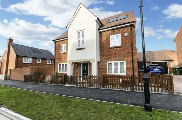 4 Bedrooms Detached House for sale in Savernake Way, Fair Oak, EASTLEIGH, Hampshire
