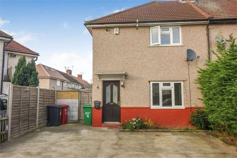 3 Bedrooms End Of Terrace House for sale in Court Crescent, Slough, Berks