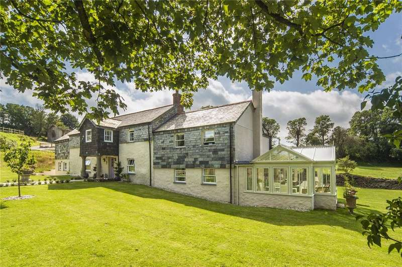 6 Bedrooms Unique Property for sale in Polmenna, Near Tregony, The Roseland, Cornwall, TR2