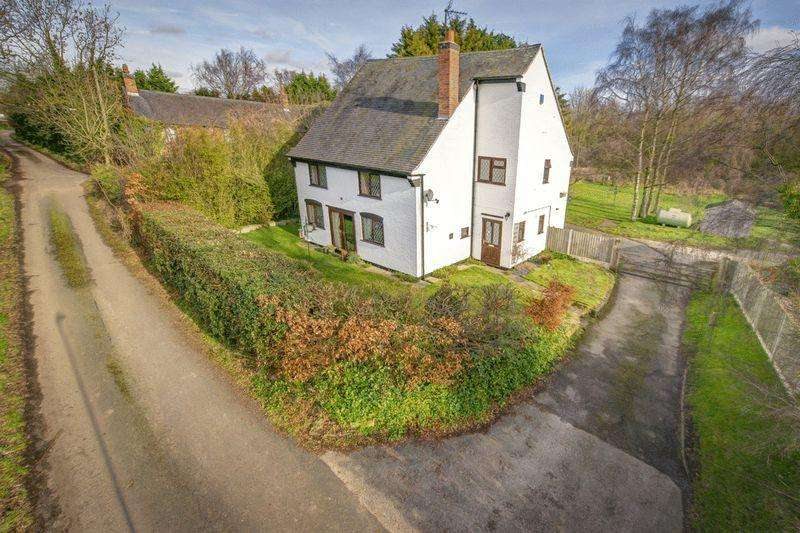 4 Bedrooms Detached House for sale in IVY COTTAGE, BURNTHEATH, HILTON