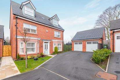 5 Bedrooms Detached House for sale in St. Thomas Close, Windle, St. Helens, Merseyside, WA10