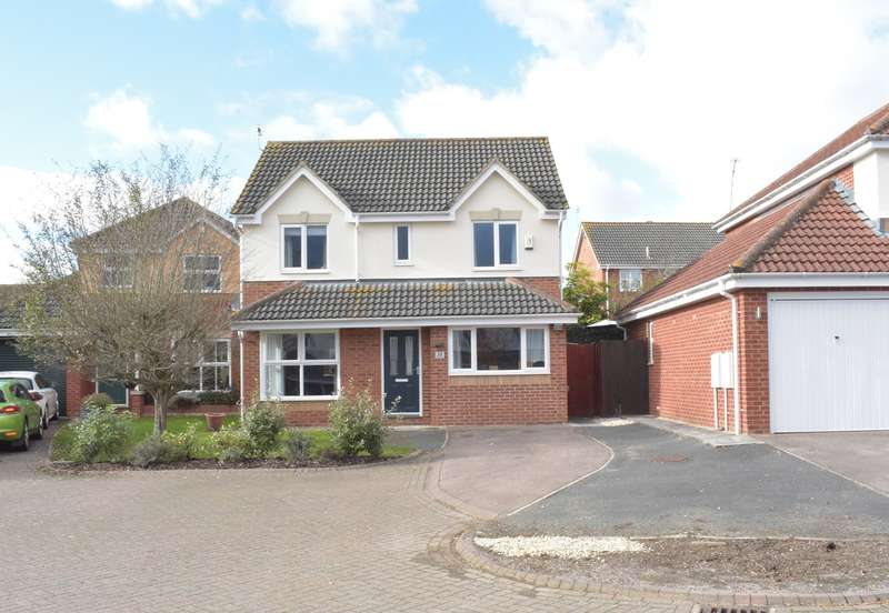 3 Bedrooms Detached House for sale in Abbey Meadow, Stonehills, Tewkesbury, GL20