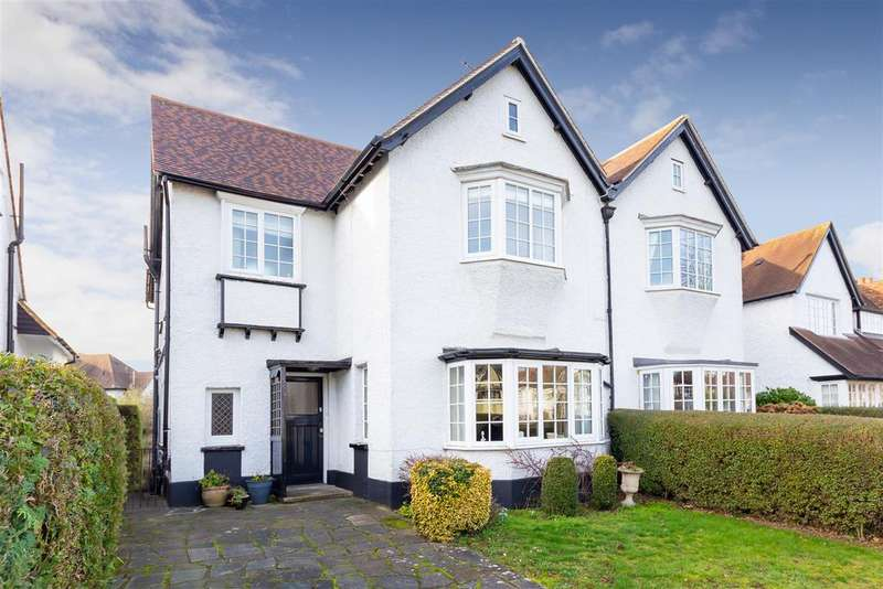 4 Bedrooms Semi Detached House for sale in Norton Way South, Letchworth Garden City