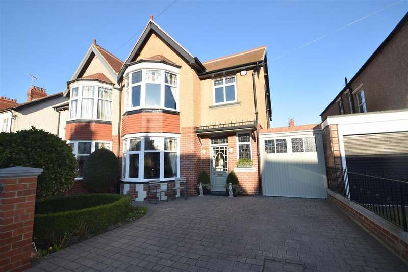 4 Bedrooms Semi Detached House for sale in Brighton Grove, Whitley Bay