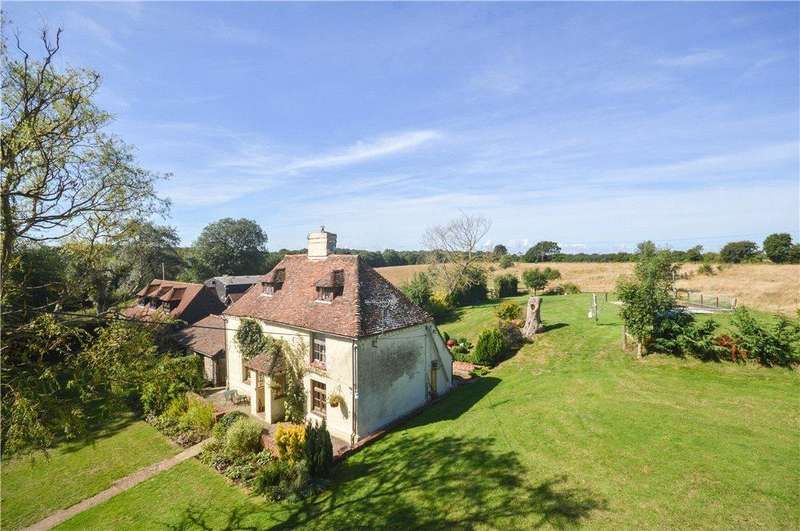 5 Bedrooms Equestrian Facility Character Property for sale in Tamley Lane, Hastingleigh, Ashford, Kent