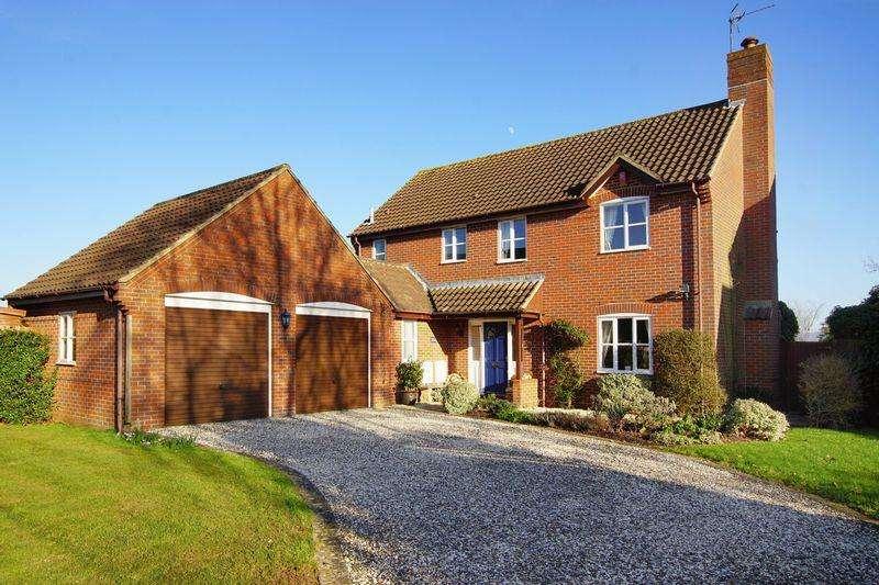 4 Bedrooms Detached House for sale in Longaston Close, Slimbridge, GL2 7BA