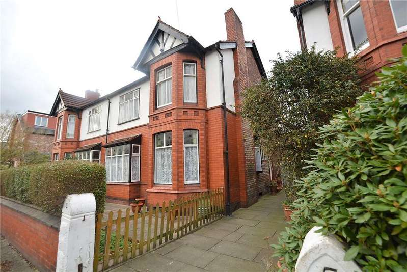 4 Bedrooms Semi Detached House for sale in Sidbury Road, Chorlton, Manchester, M21
