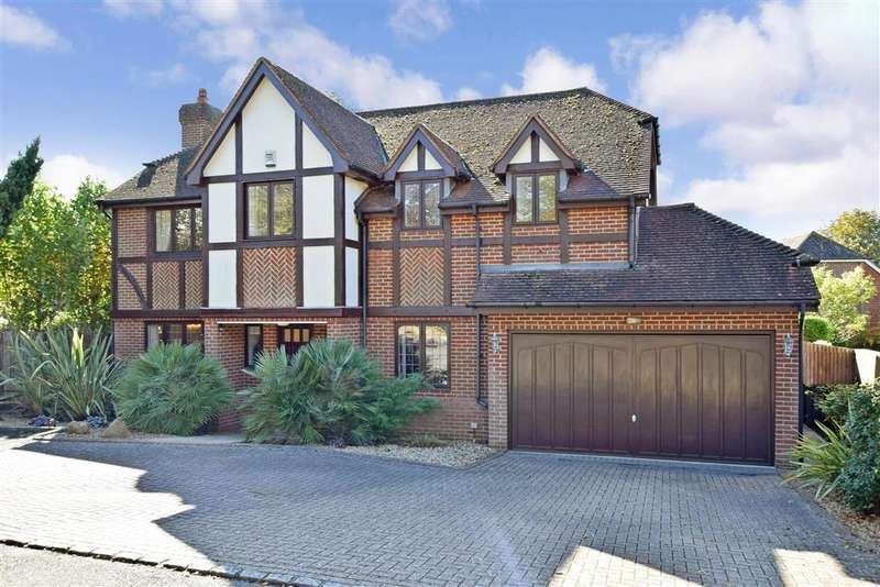 5 Bedrooms Detached House for sale in Salvington Hill, , Worthing, West Sussex