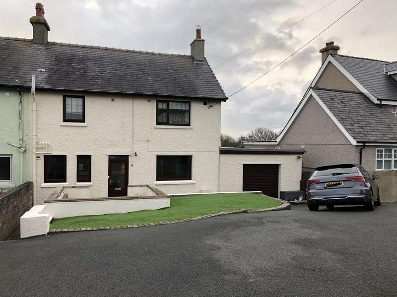 3 Bedrooms Semi Detached House for sale in Snowdon View Road, Trearddur Bay, North Wales
