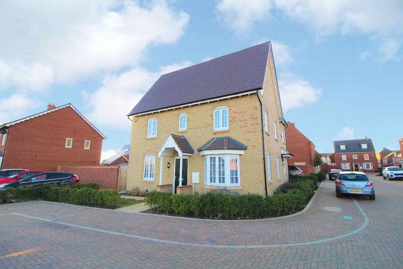 3 Bedrooms Semi Detached House for sale in Rowan Close, Great Denham, MK40