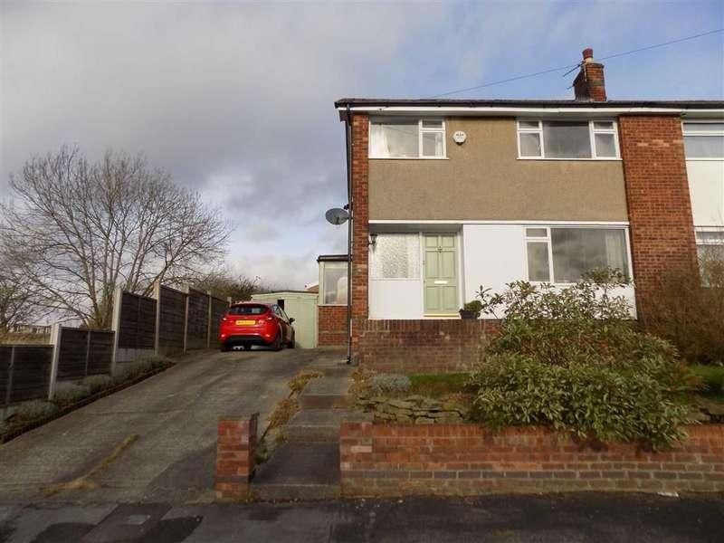 3 Bedrooms Semi Detached House for sale in Alderley Drive, Bredbury, Stockport