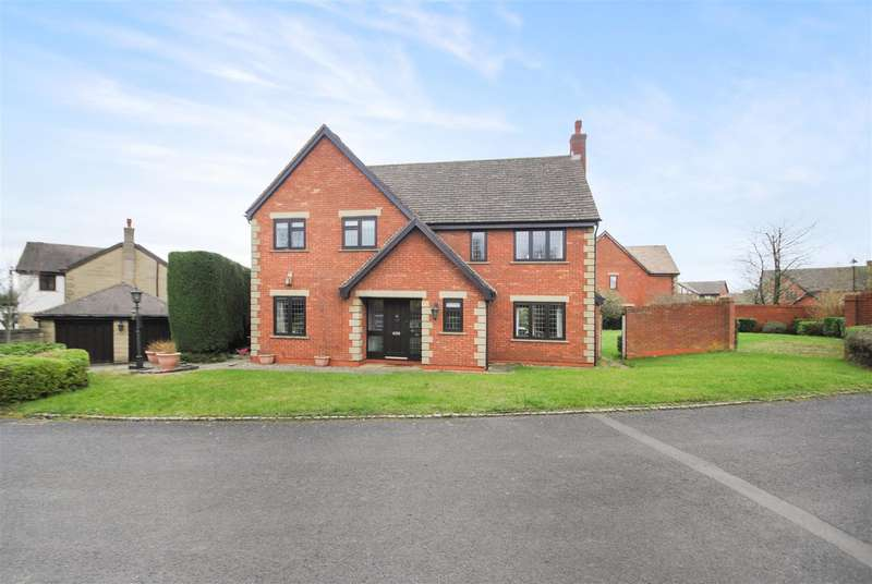 4 Bedrooms Detached House for sale in Chartwell Gardens, APPLETON, Warrington, WA4