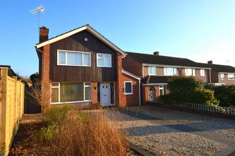 3 Bedrooms Detached House for sale in Knightley Road, Exeter