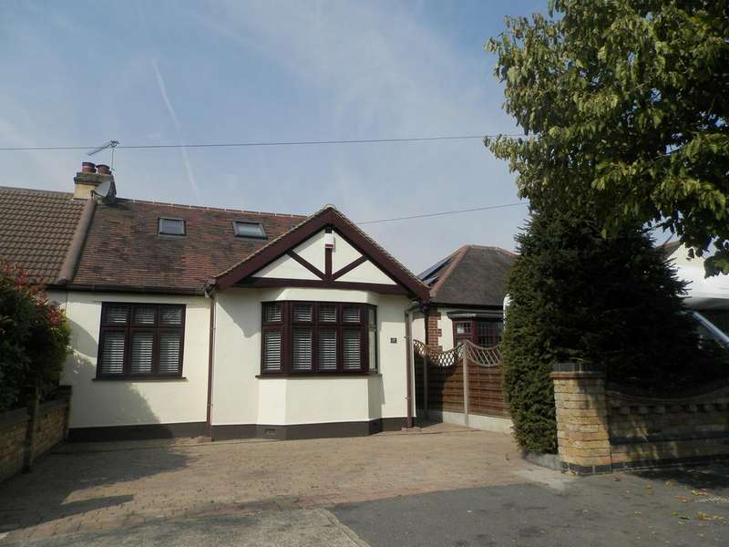 4 Bedrooms Semi Detached Bungalow for sale in Bedford Gardens, Hornchurch, Essex RM12