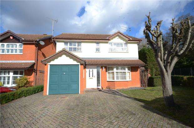 4 Bedrooms Detached House for sale in Constable Way, College Town, Sandhurst
