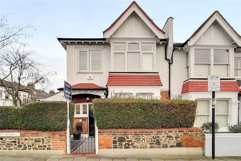 5 Bedrooms End Of Terrace House for sale in Beechcroft Road, London, SW17