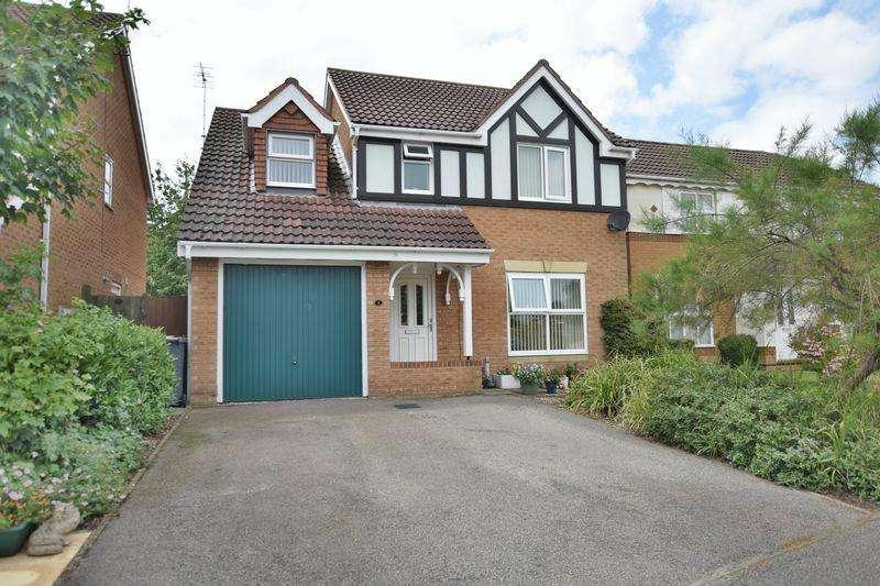 4 Bedrooms Detached House for sale in Cardyke Way, Bracebridge Heath, Lincoln