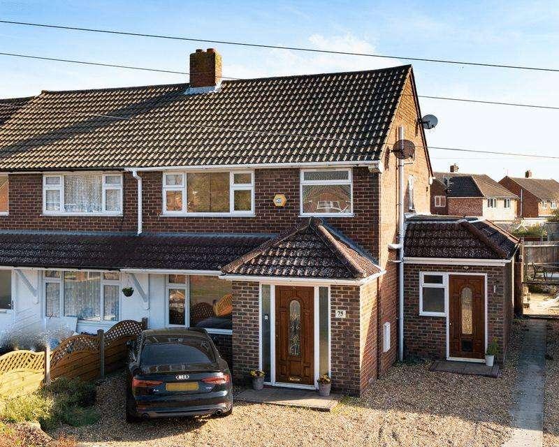 3 Bedrooms Semi Detached House for sale in Elm Avenue, Caddington