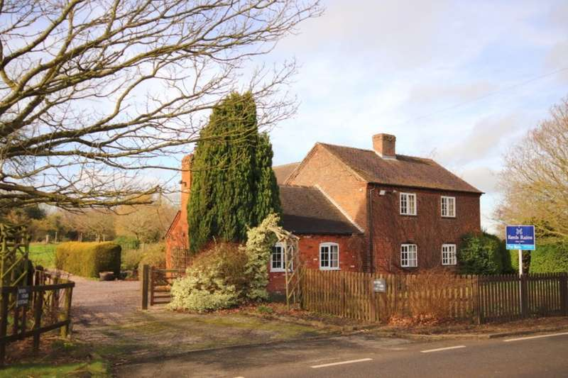 3 Bedrooms Detached House for sale in Bridgemere, Nantwich, CW5