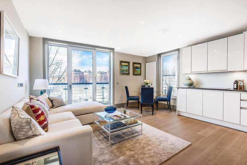 2 Bedrooms Apartment Flat for sale in Calico West, Battersea, SW11