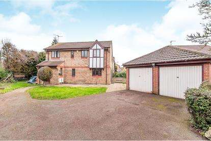 4 Bedrooms Detached House for sale in Whitacre, Peterborough, Cambridgeshire