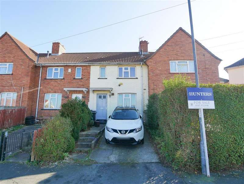3 Bedrooms Terraced House for sale in Downton Road, Knowle, Bristol, BS4 1PZ
