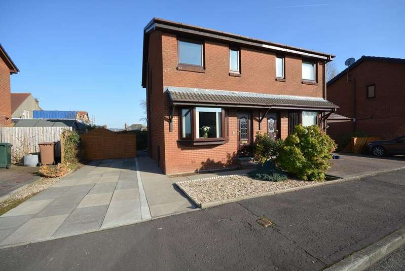 2 Bedrooms Semi Detached House for sale in Andrew Lundie Place, Galston, KA4