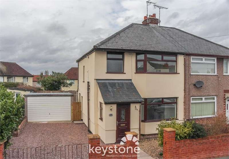 3 Bedrooms Semi Detached House for sale in Victoria Road, Shotton, Deeside. CH5 1ES