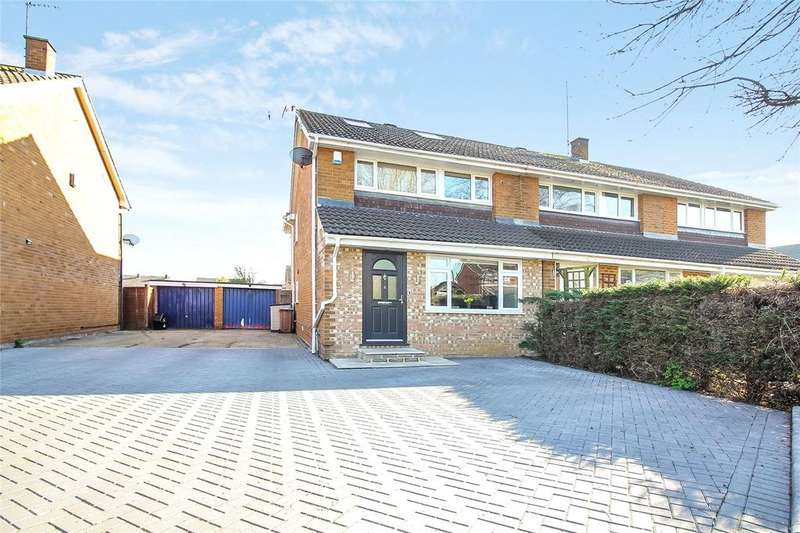 4 Bedrooms Semi Detached House for sale in Renault Road, Woodley, Reading, Berkshire, RG5