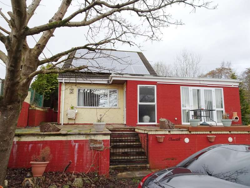 3 Bedrooms Detached Bungalow for sale in Heol Evan Wynne, Pontlottyn, Bargoed