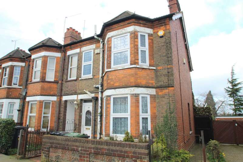4 Bedrooms End Of Terrace House for sale in Grange Avenue, Luton, LU4 9AT