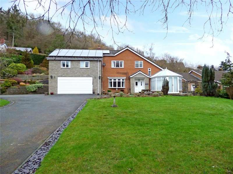 4 Bedrooms Detached House for sale in Chapel Close, Knucklas, Knighton, Powys