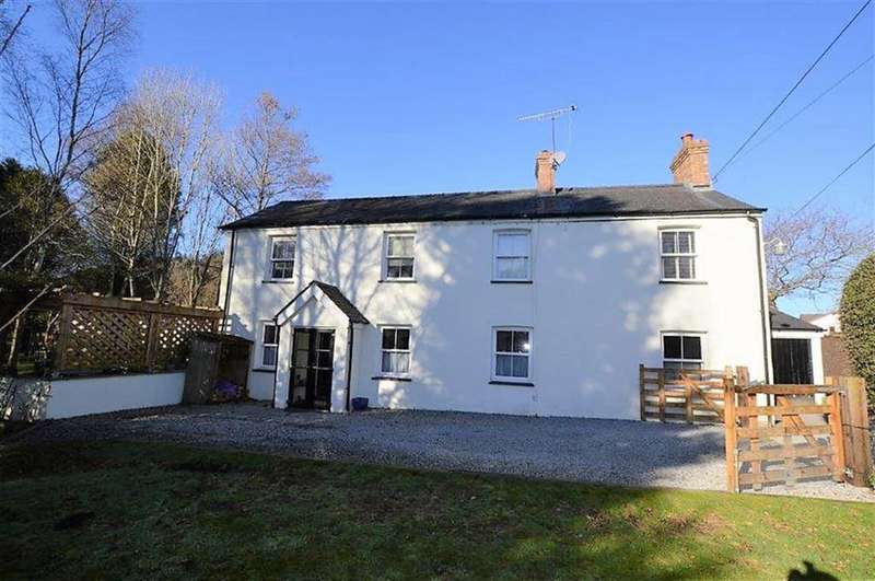 3 Bedrooms Detached House for sale in Glanceulan, Talybont, Aberystwyth, Ceredigion, SY24