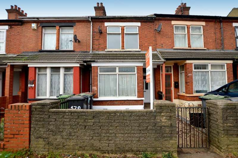 3 Bedrooms Terraced House for sale in Biscot Road, Biscot, Luton, Bedfordshire, LU3 1AP