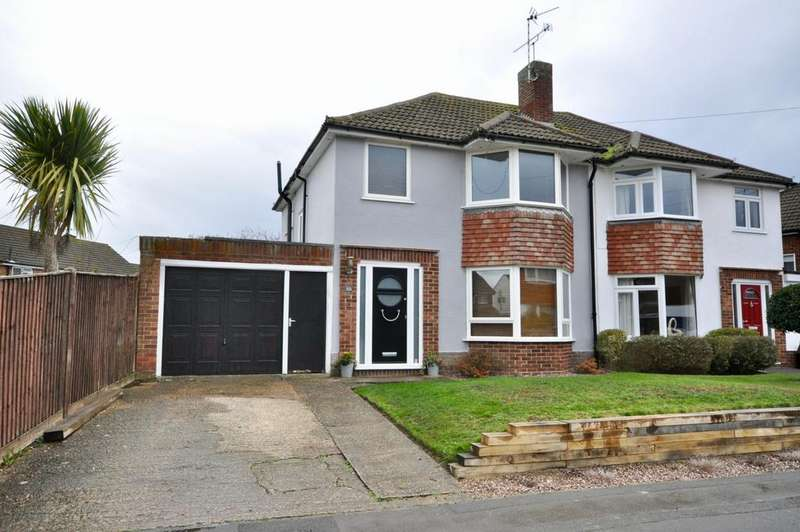 3 Bedrooms Semi Detached House for sale in Haddon Drive, Woodley, Reading, RG5 4LL