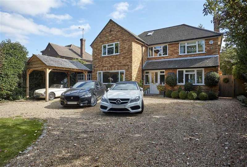 5 Bedrooms Detached House for sale in Altwood Drive, Maidenhead, Berkshire