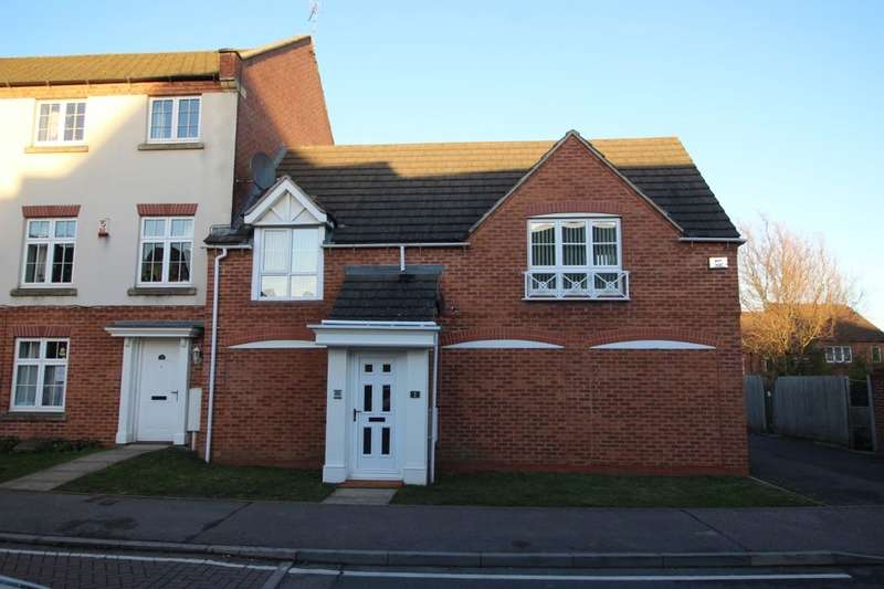 2 Bedrooms Flat for sale in Carty Road, Hamilton, Leicester, LE5