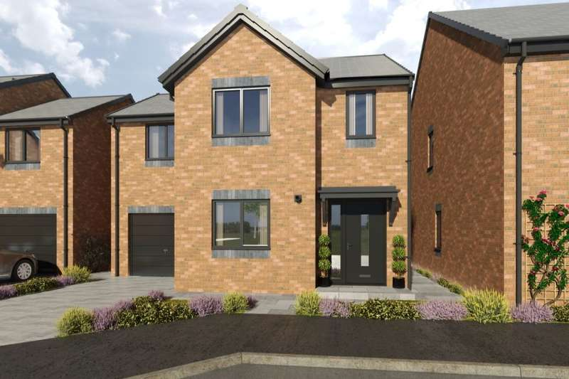 3 Bedrooms Detached House for sale in Marley View, Marley Hill, Newcastle Upon Tyne, NE16